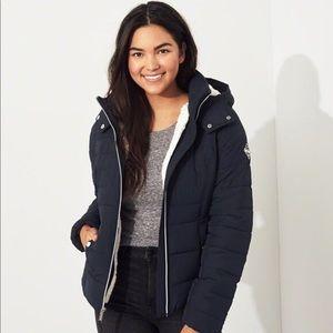 Hollister Sherpa Puffer Jacket